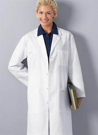 May áo blouse bác sĩ - May áo blouse MS004