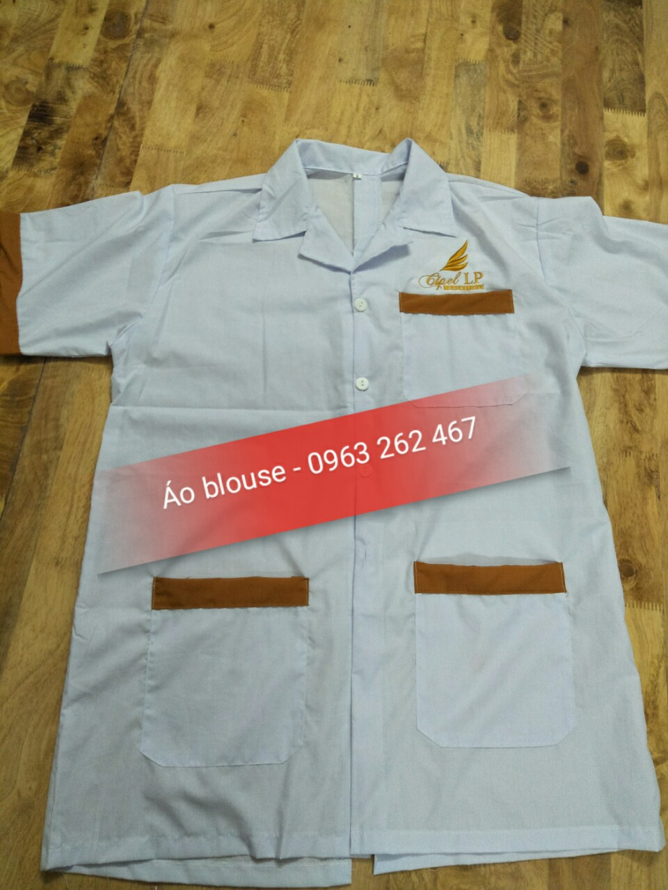 ao blouse co san tai sho
