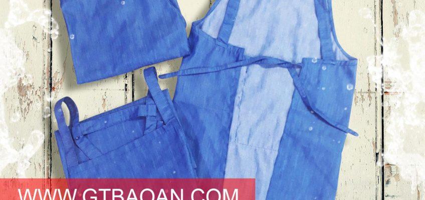 Tạp dề yếm vải jean