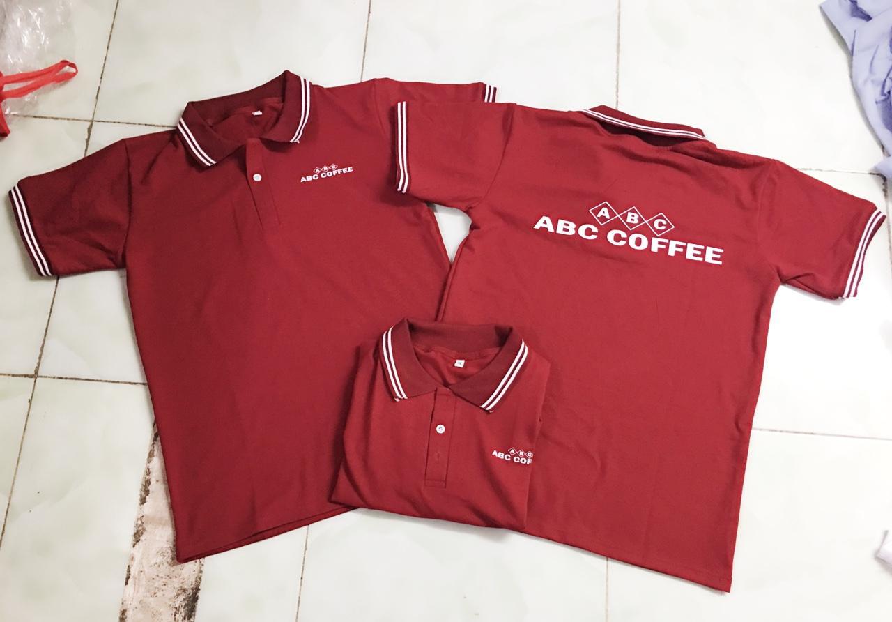 Áo thun quán cafe ABC