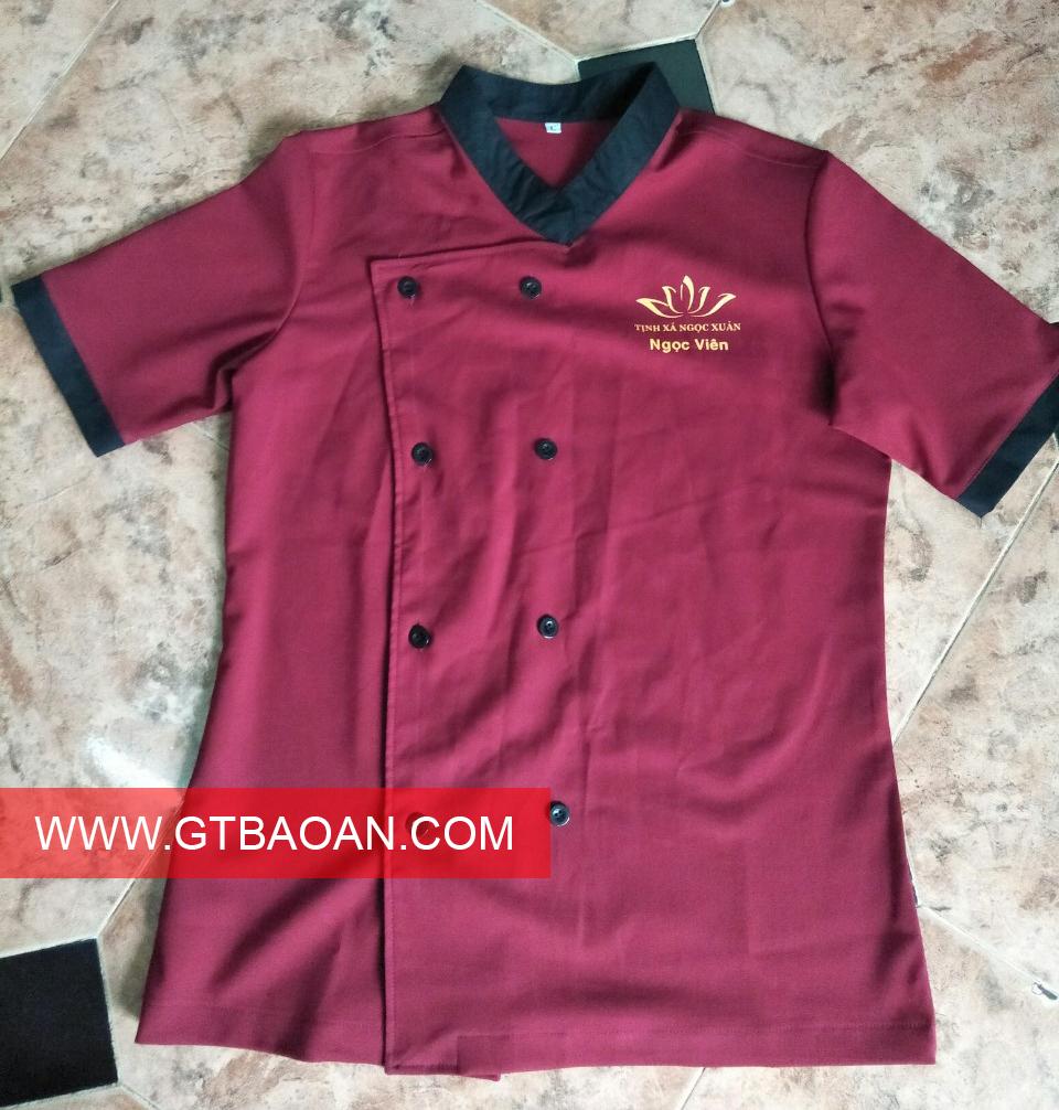 Đồng phục nhân viên nhà bếp đẹp
