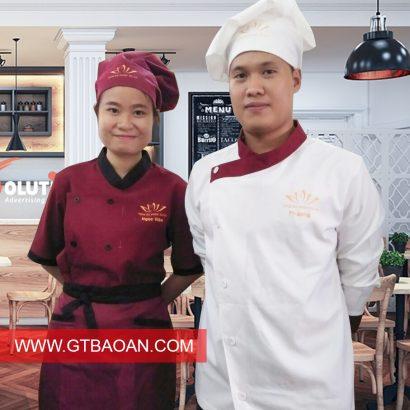 đồng phục nhân viên làm bếp