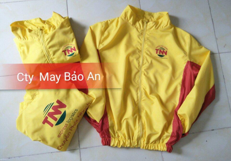 Mẫu áo khoác đồng phục TNN