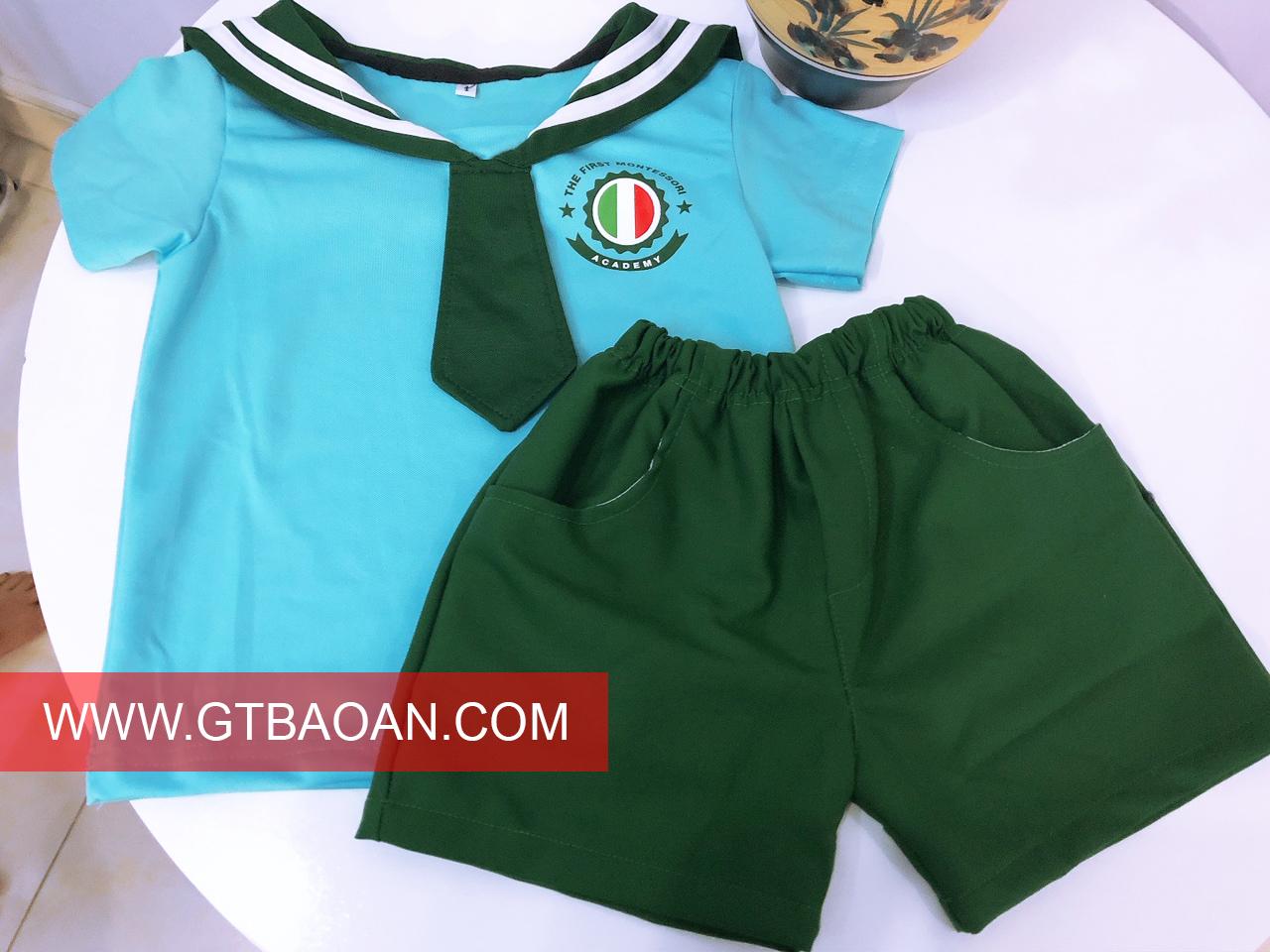 mẫu đồng phục mầm non padway