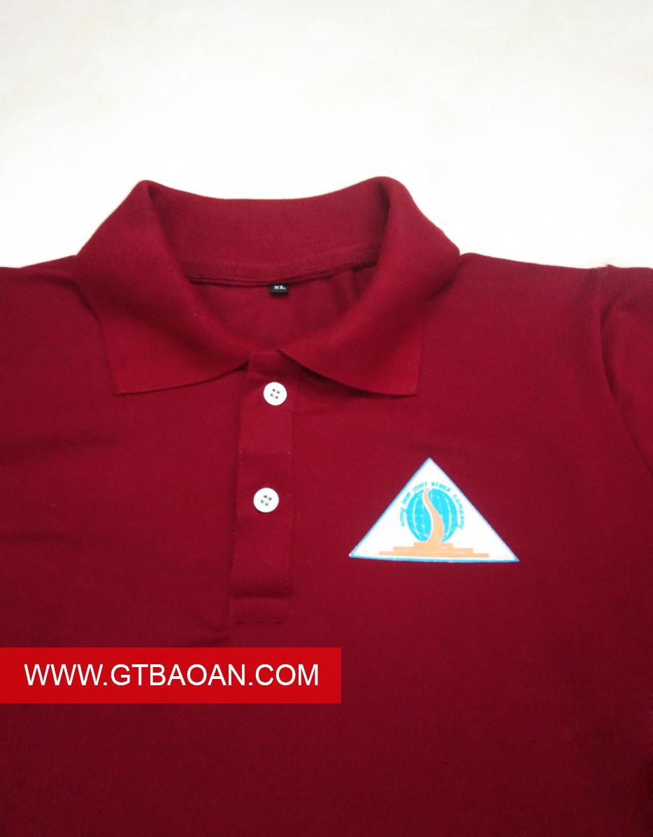 áo thun cổ trụ đồng phục Sông Lam