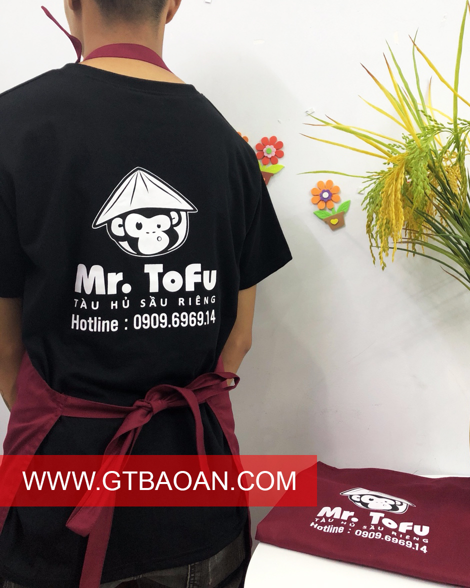 Đồng phục nhân viên phục vụ Mr.ToFu