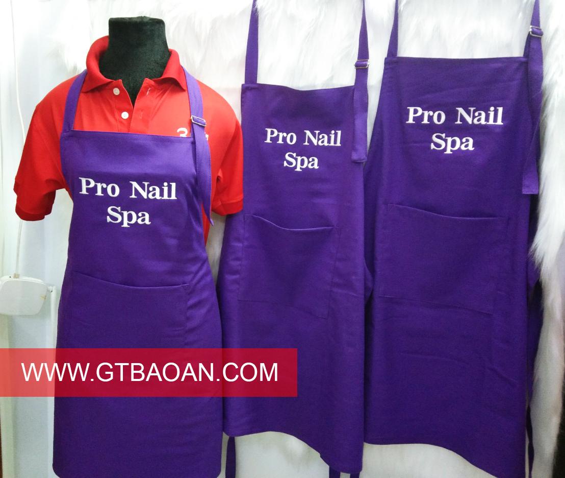 Tạp dề nhân viên Pro Nail Spa