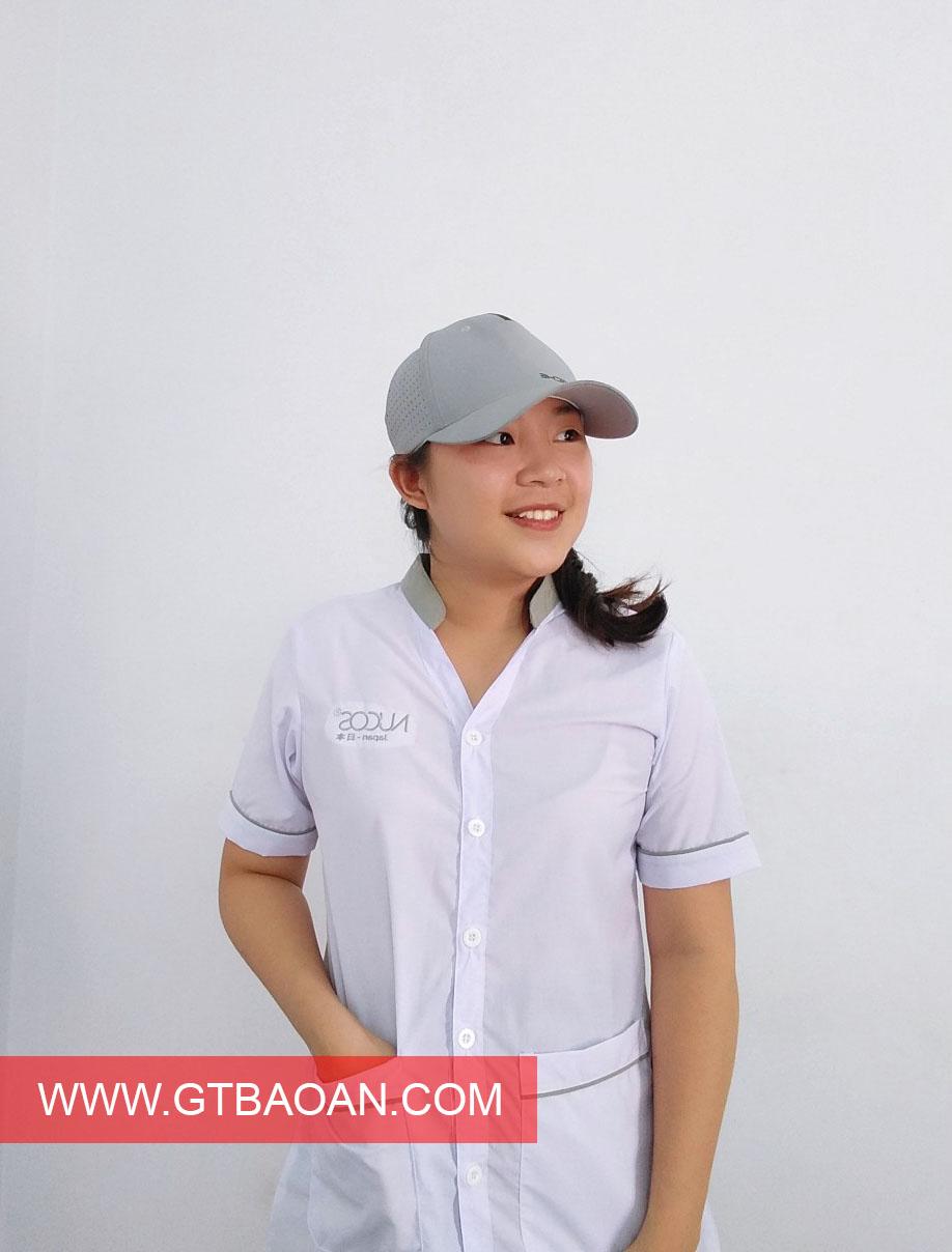 Áo blouse trắng Nucos