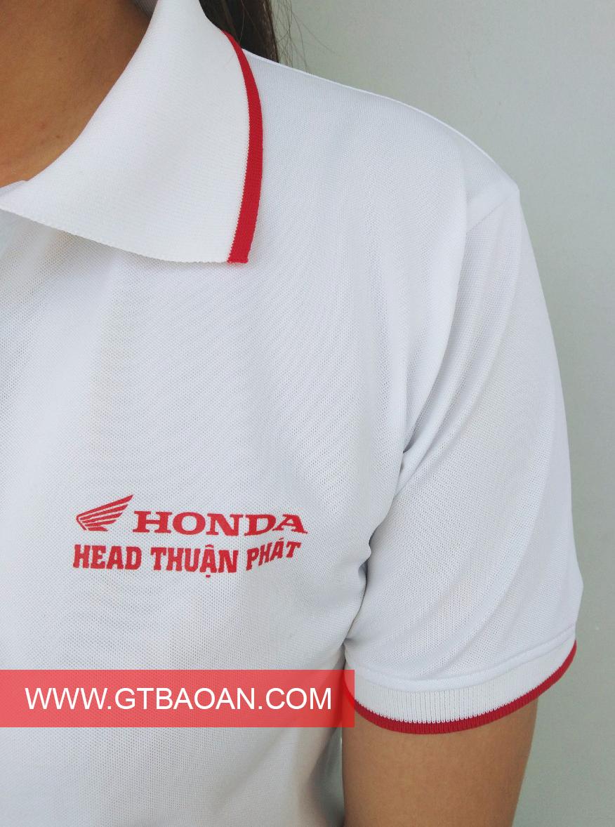 Áo thun cổ trụ honda head Thuận Phát