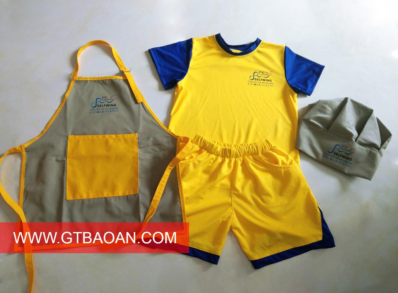 Đồng phục trường mầm non SLEFWING