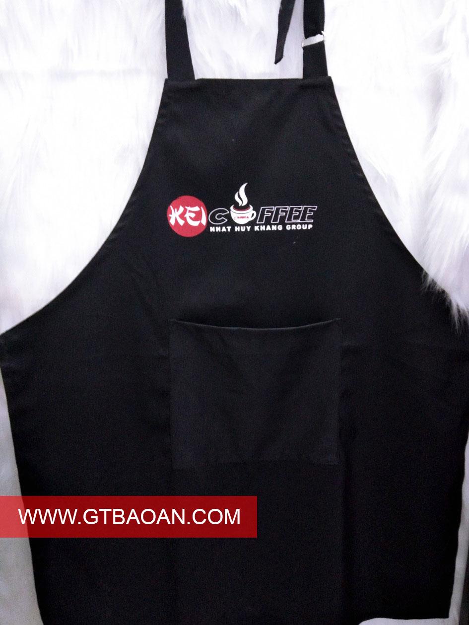 Tạp dề quán cafe Nhat Huy Khang Group