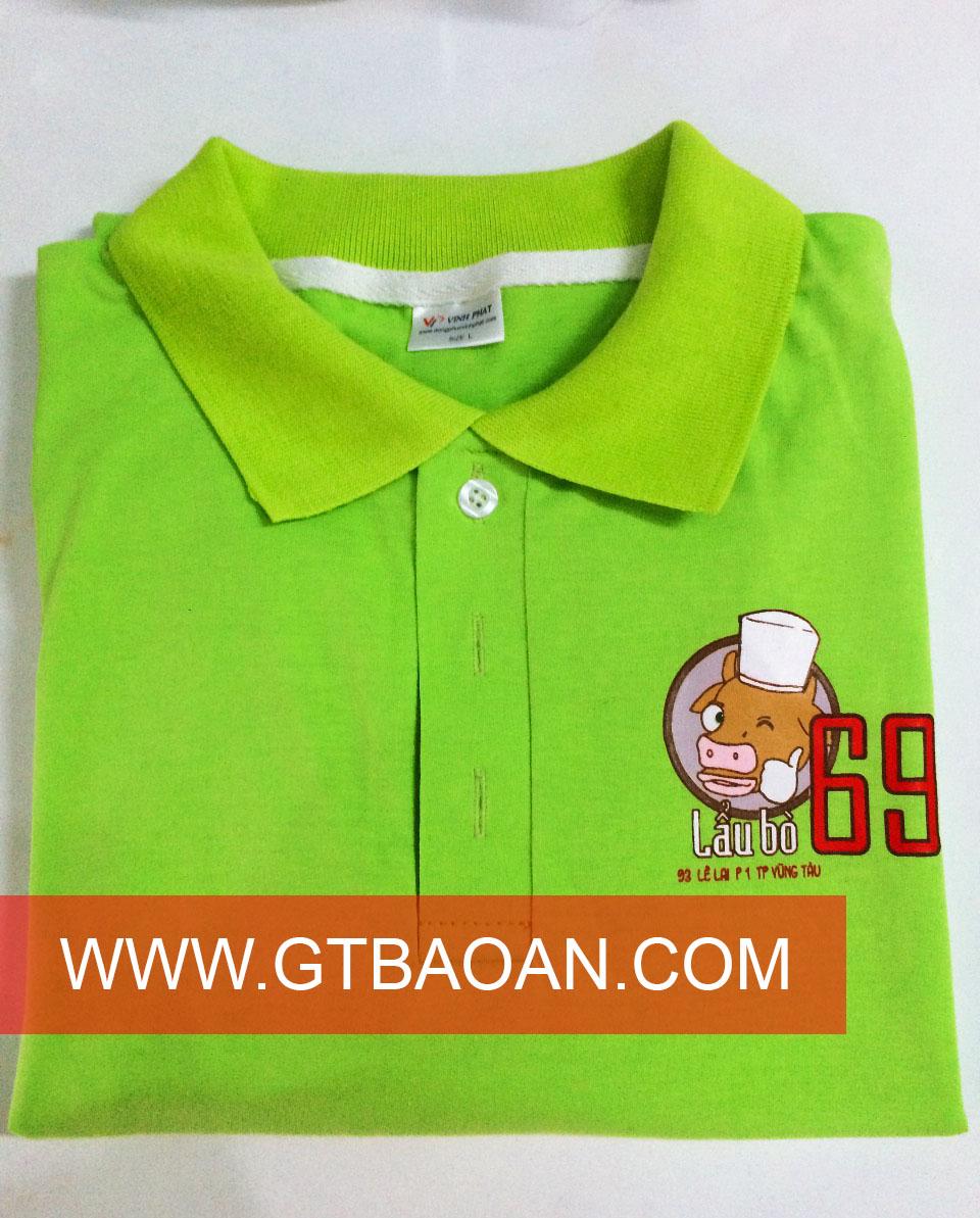 Đồng phục đẹp nhân viên quán lẩu bò 69