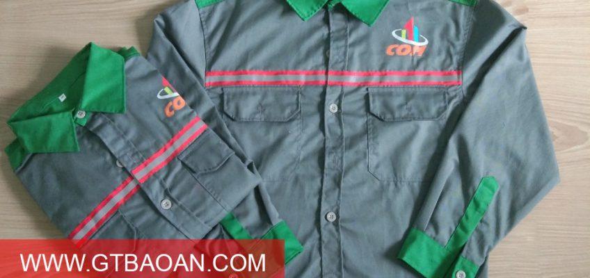 Đồng phục bảo hộ lao động công ty COM