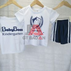 Áo thun đồng phục trường mầm non Baby Boss