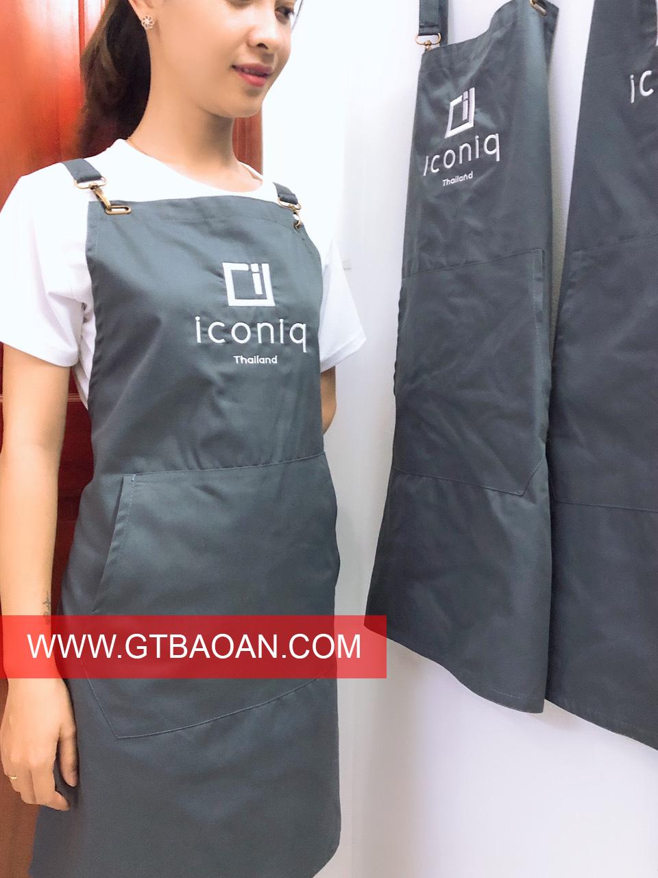 Tạp dề đồng phục đẹp Iconiq