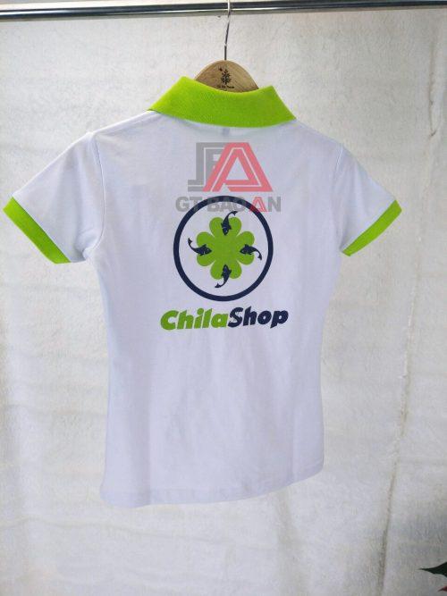 Áo thun đồng phục cổ trụ Chila Shop
