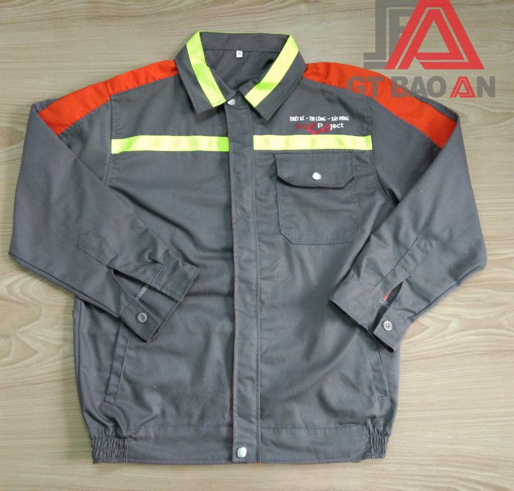 Đồng phục bảo hộ lao động công ty xây dựng K12