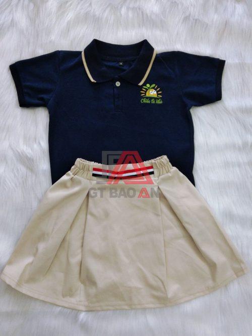 Đồng phục mầm non-mẫu giáo Chiếc Lá Nhỏ