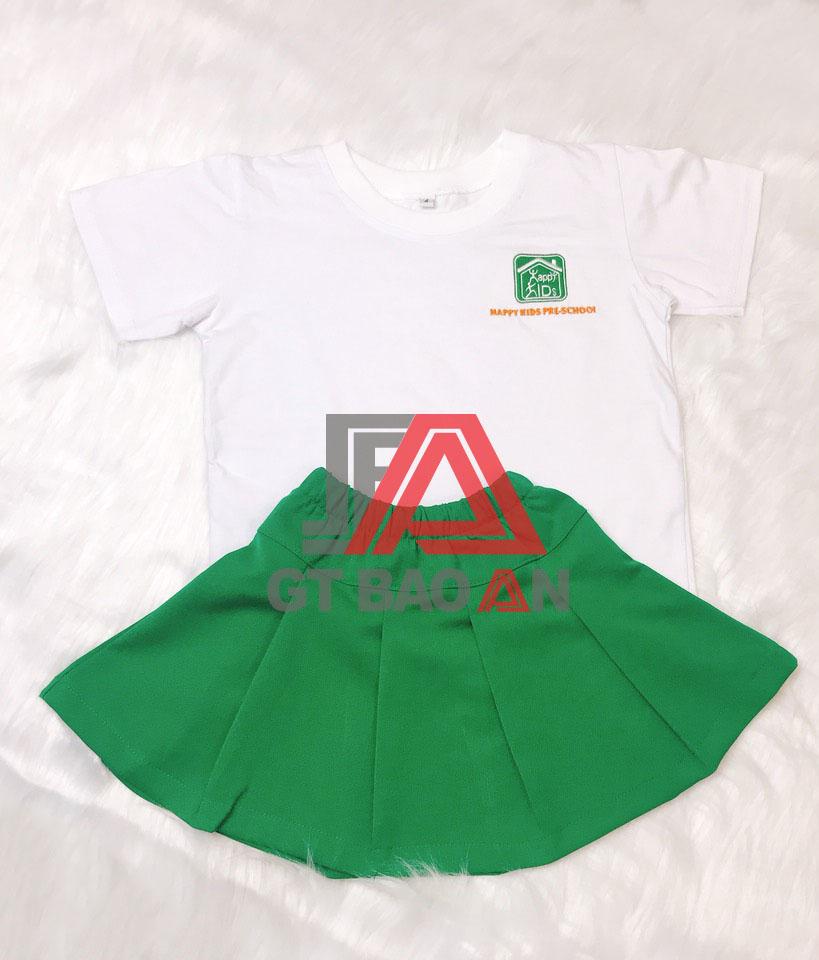 Đồng phục mầm non-mẫu giáo trường Happy Kids