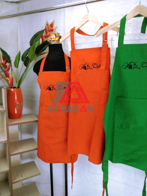 Tạp dề đồng phục nhân viên phục vụ quán Café