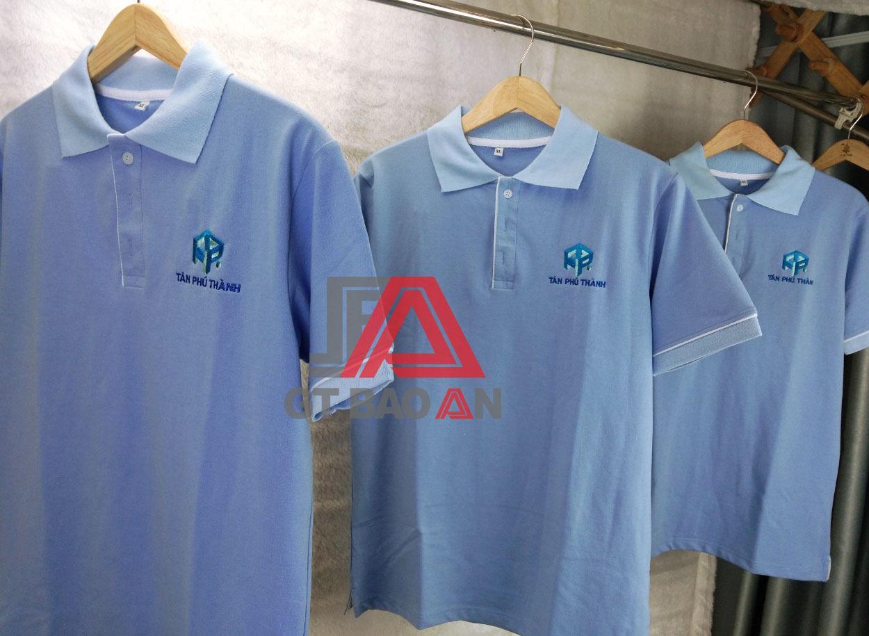 Áo thun nhân viên công ty Tân Phú Thành
