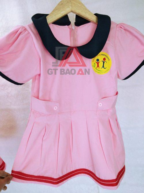 Đồng phục mầm non, cô giáo trường Thanh Bình
