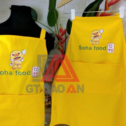 Tạp dề nhân viên phục vụ quán ăn-nhà hàng