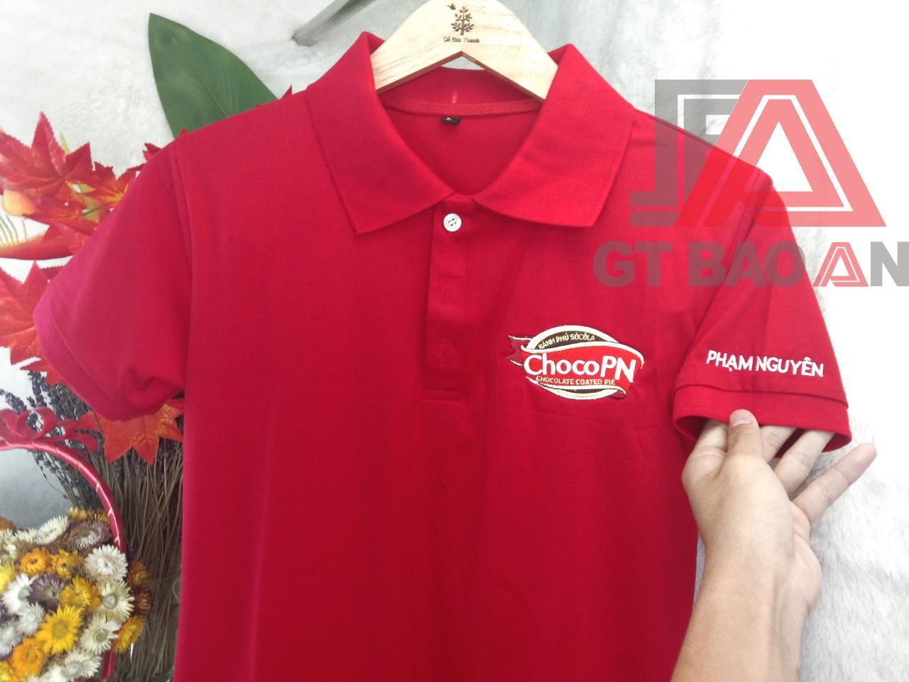 Áo thun đồng phục nhân viên công ty ChocoPN