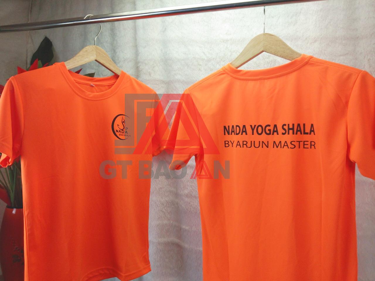 Đồng phục áo thun Yoga