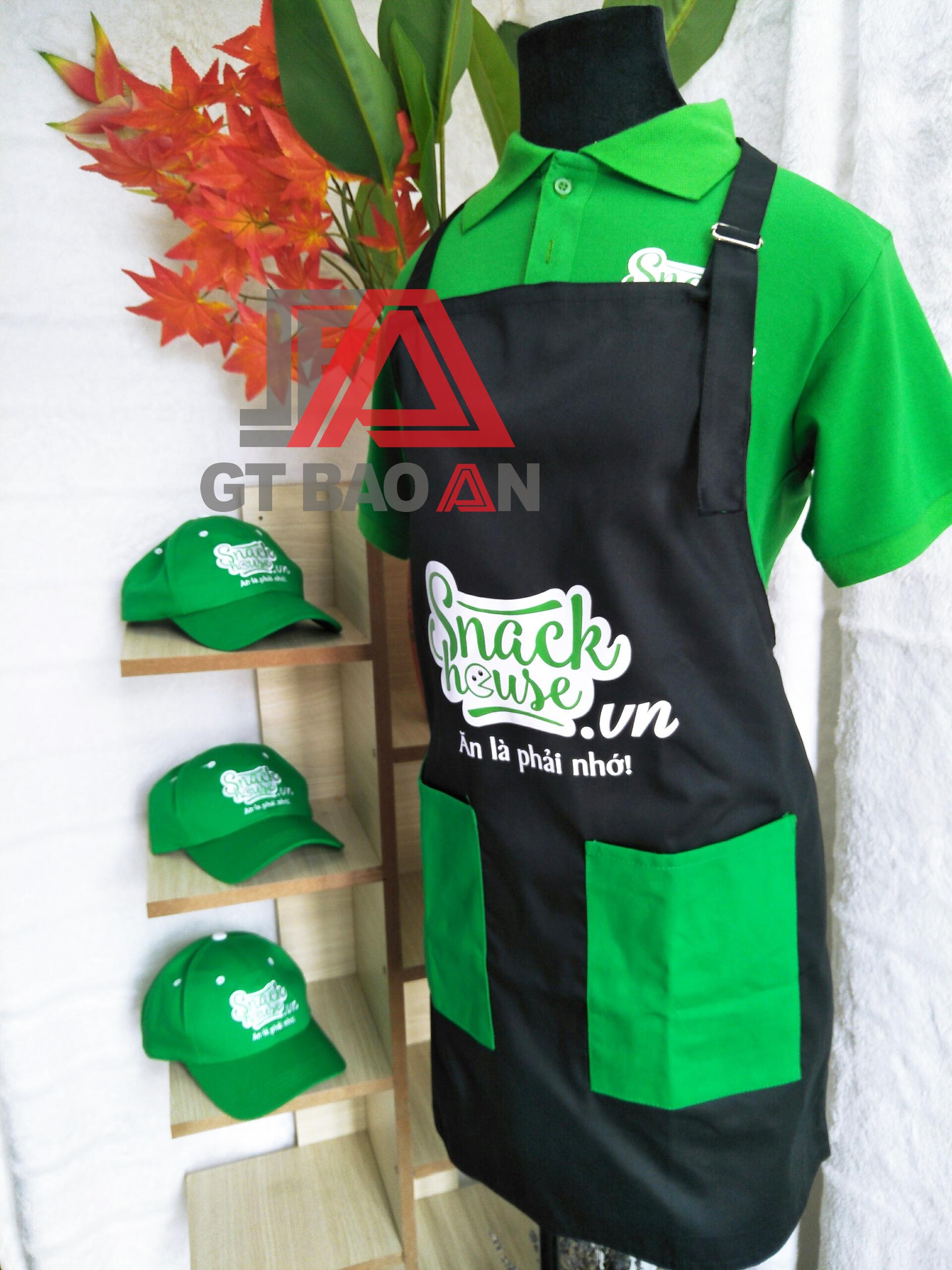 Áo thun đồng phục nhân viên phục vụ quán ăn