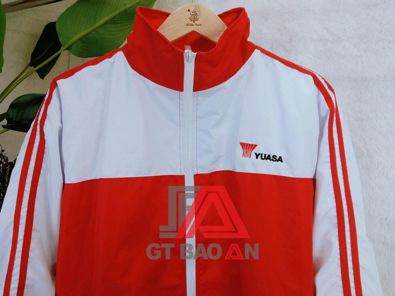 Áo khoác đồng phục công ty YUASA