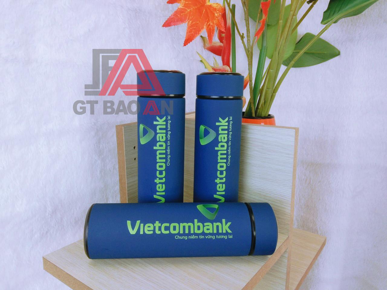 Bình giữ nhiệt quà tặng Vietcombank