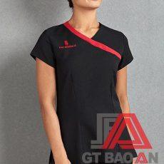 Đồng phục Spa màu đen