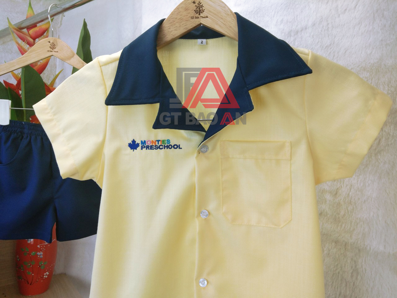 Đồng phục mầm non Monties Preschool