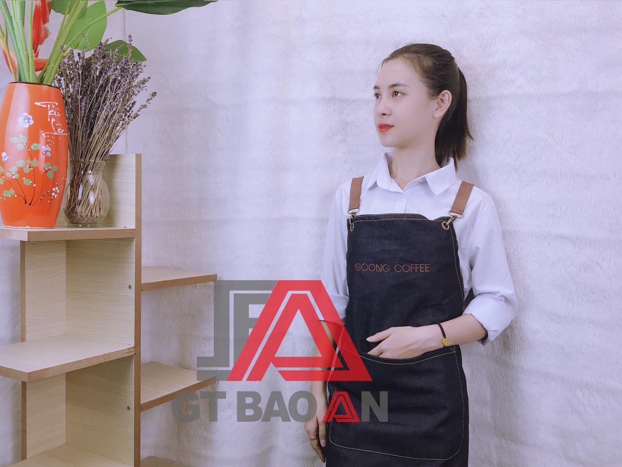 Đồng phục nhân viên quán café