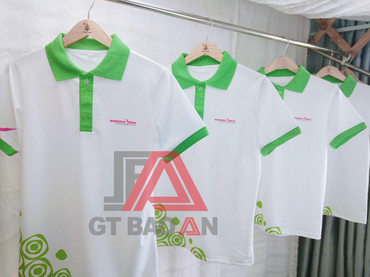 Áo thun đồng phục nhân viên Honda Hoàng Việt