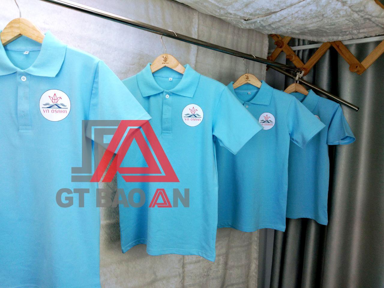 Áo thun đồng phục nhân viên công ty VN OSAKA