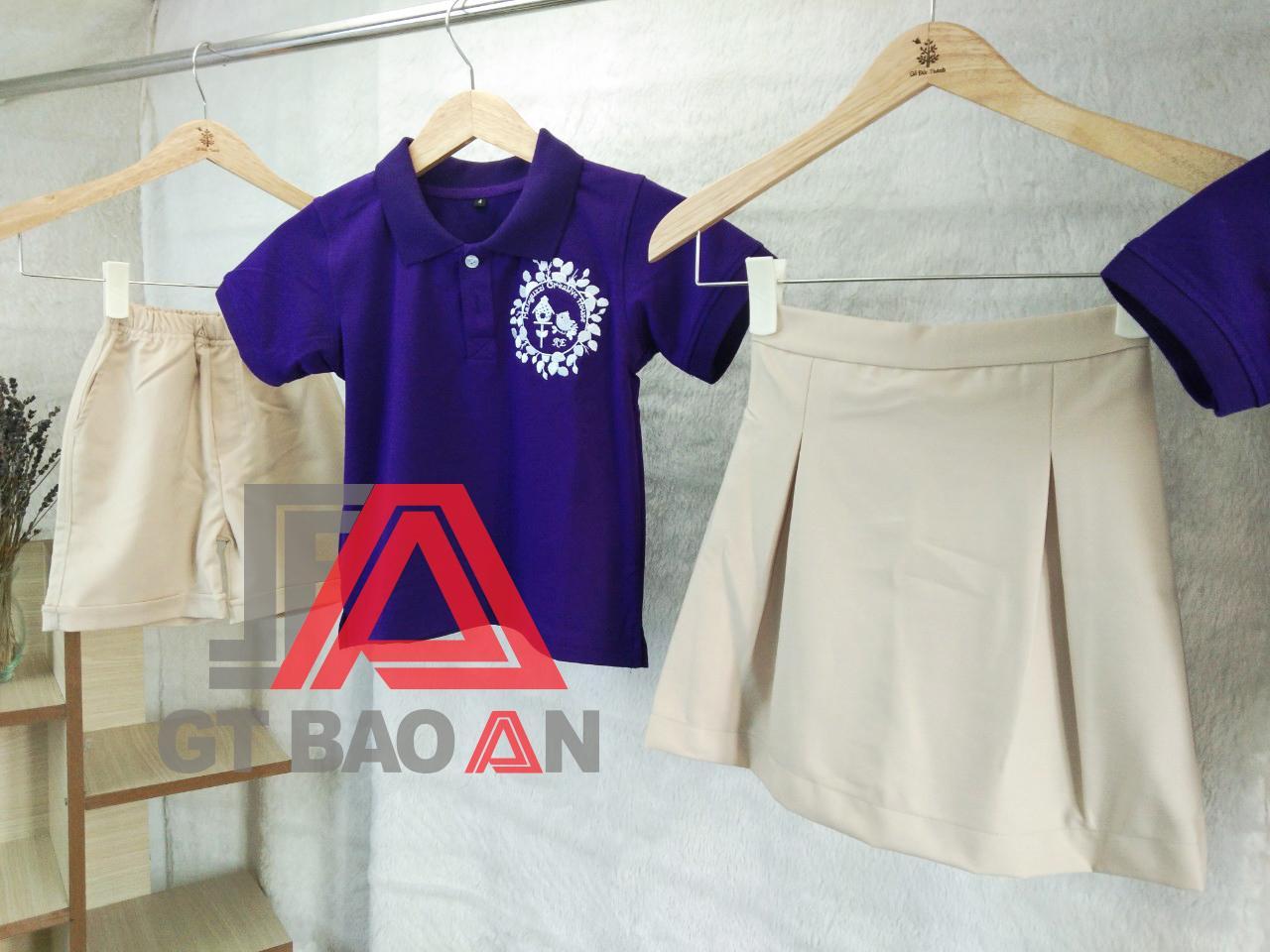 May đồng phục mầm non-mẫu giáo giá tại xưởng