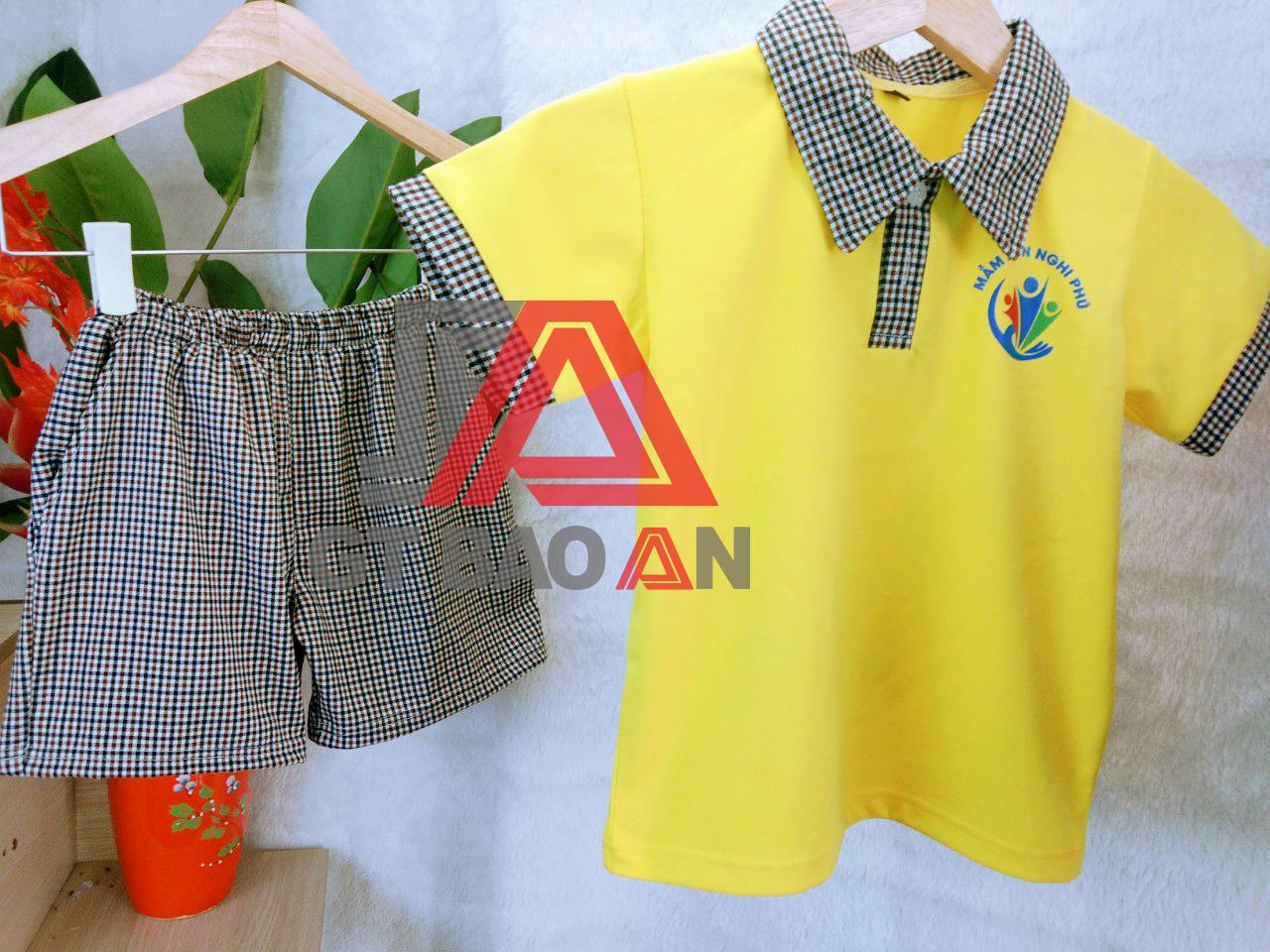 Đồng phục trường mầm non Nghi Phú