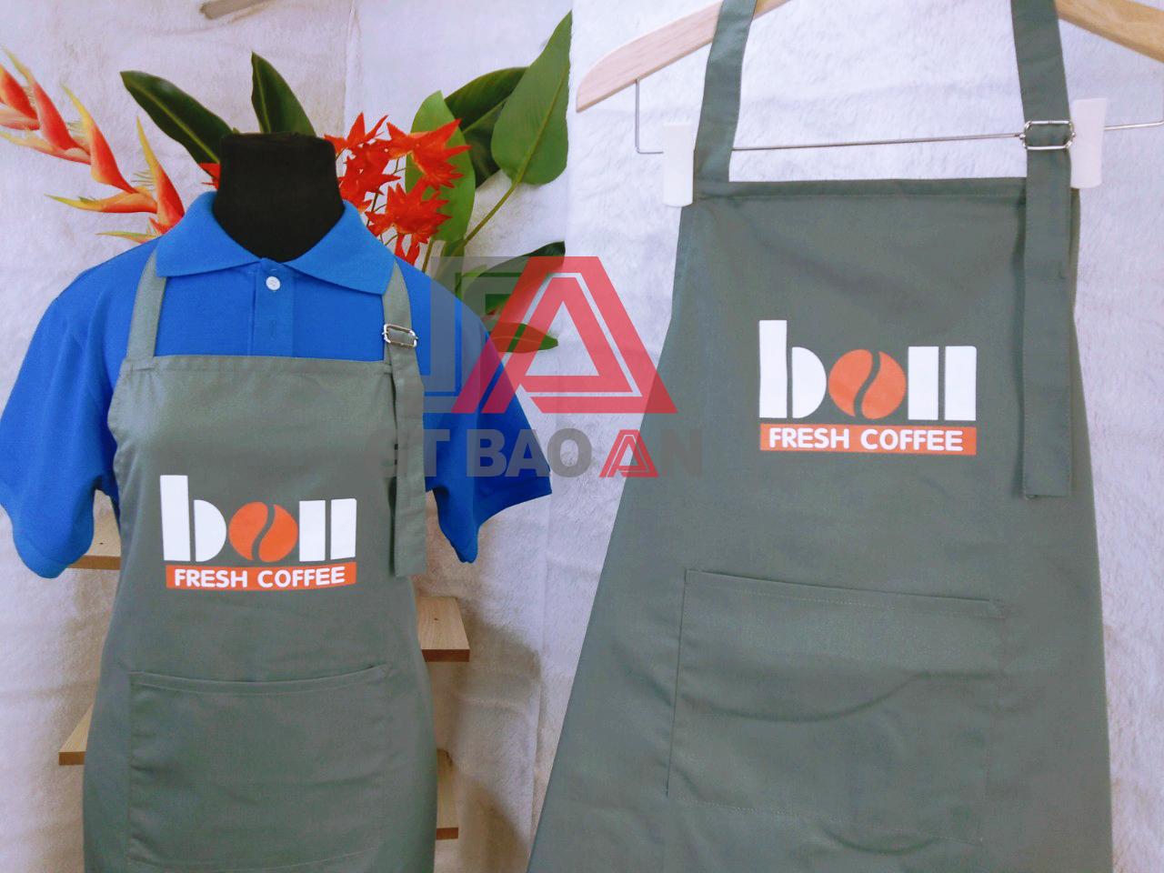 Đồng phục nhân viên phục vụ quán café BON